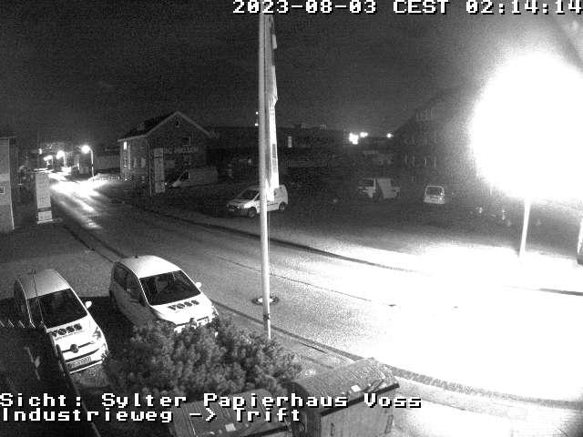 Webcam Autozug Sylt Zufahrt